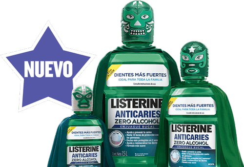 LISTERINE® Anticaries Zero Alcohol
